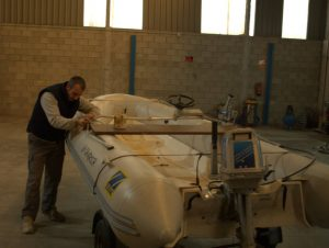 Reparación de Embarcaciones Neumaticas